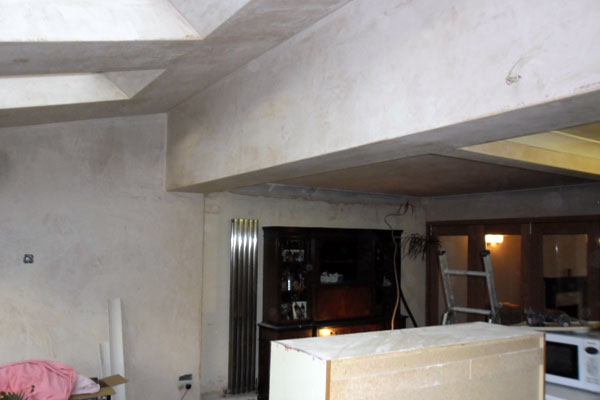 Home extension plasters