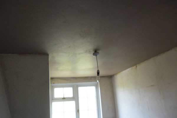 Plastering ceilings and walls