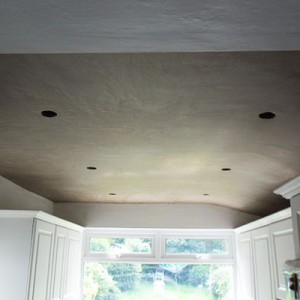 Plastering a Kitchen Ceiling in Finchley