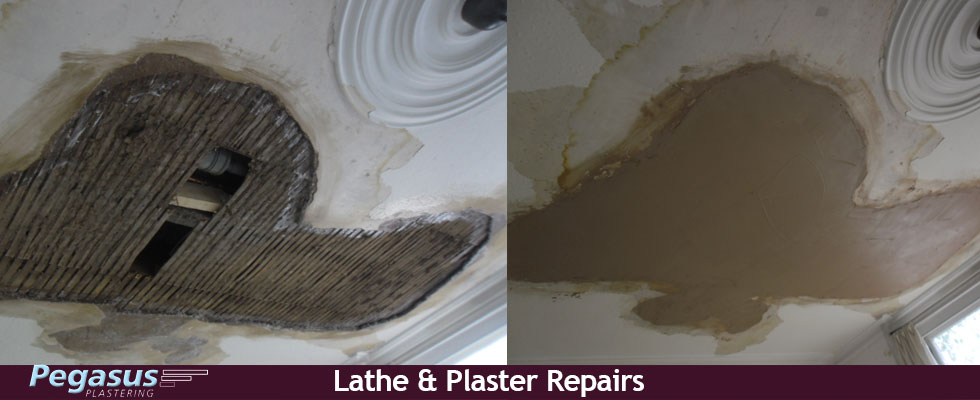 Lathe and plaster repairs