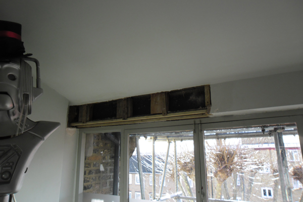 Plaster repairs and plasterboard installation