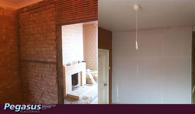 Plaster walls Finchley