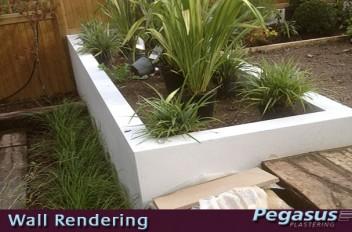 Garden Wall Rendering