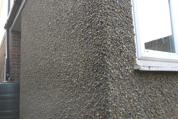Pebble dashing walls Enfield