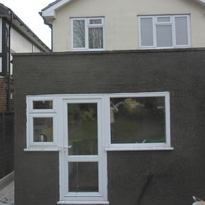 Pebble Dashing Exterior Walls in Enfield