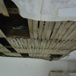 Lathe And Plaster Ceiling Repairs