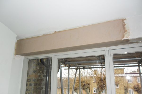 Plastering walls and patch repairs
