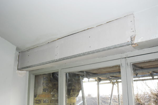 Plastering and plasterboarding