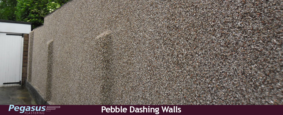 Pebble Dashing Walls