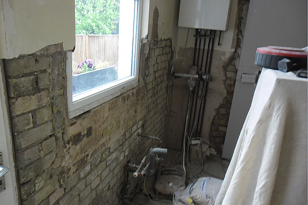 Kitchen Plastering