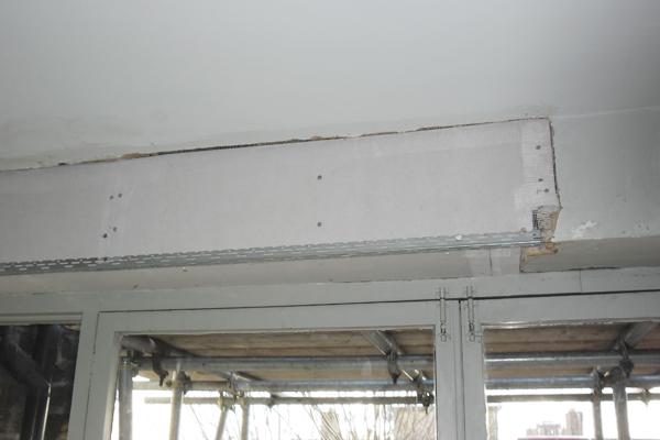 Ceiling plaster repairs