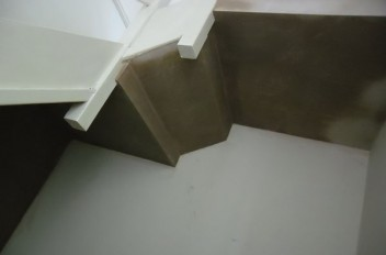Plastering a Stairwell and Lobby