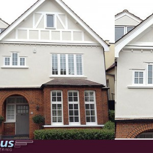 Exterior Rendering in North London