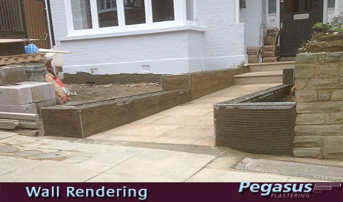 Rendering garden walls